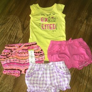 5 for $20 Okie Dokie Shorts and Bodysuit Bundle